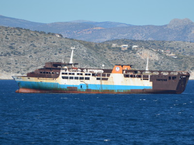 Former Japanese Ferries in Greece